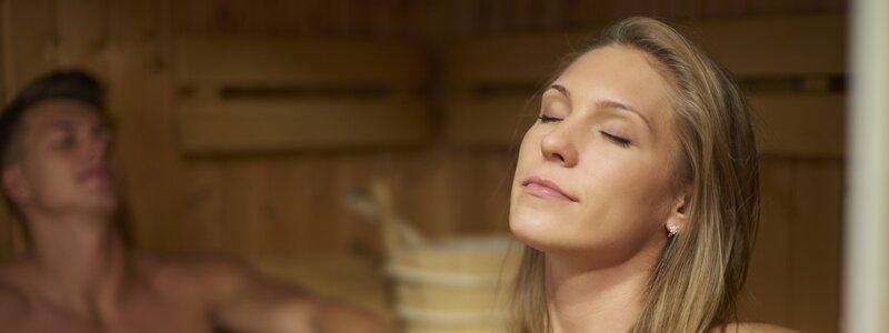 Sauna ochtend entree